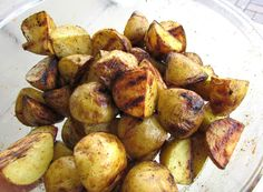 GRILLED 'FRENCH FRIED' POTATOES