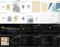 Red Year report charts PowerPoint template on Behance Company Introduction, Corporate Profile, Design Brochure, Business Powerpoint Templates, Travel Humor, Company Profile, Blogger Themes, Animal Design, Good Company