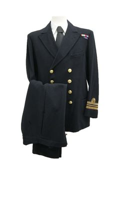 Royal Navy Uniforms of the 1940s
