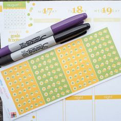 32 Weather Strips August Theme Sticker Planner  // Perfect for Erin Condren Life Planner by FasyShop on Etsy