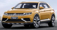 Volkswagen is about to pull the wrap off its new SUV concept in the shape of the CrossBlue Coupé at 2013 Shanghai Auto Show. Built on Volkswagen's MQB architecture, the CrossBlue Coupé highlights the future drive train possibilities and is a short-wheelbase version of the previous CrossBlue concept.