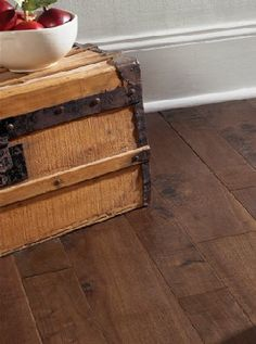 Prefinished Hardscraped Solid in American Country from Somerset Hardwood Flooring #qualityfloorsdirect