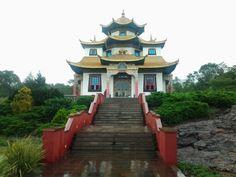 Templo budista Três Coroas-Rio Grande do Sul
