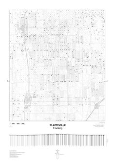 John Cook: Fracking grid, Platteville, Weld County, CO