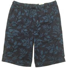 Urban Pipeline Floral Shorts Flat Front Classic Length to Knee Elastic Waist #UrbanPipeline #CasualShorts