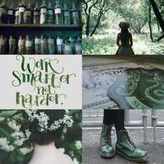 harry potter aesthetics: Slytherin 2/2