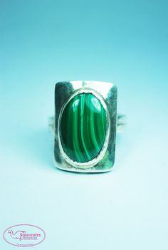 MalachiteMalachite Jewelry Malachite Rings by SouvenirsAtChiangMai Malachite, Gemstone Rings, Gemstones, Trending Outfits, Unique Jewelry, Handmade Gifts, Etsy, Vintage, Fashion