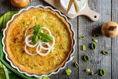 Tarte oignon poireau camembert une bonne recette d'hiver tout en saveurs