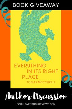 Tobias McCorkellto discuss the inspiration for his debut novelEverything in its Right Place. Plus, thanks to Transit Lounge Publishing we have 2 ebook copies of this new novel to #giveaway - entries open worldwide. #comingofage #race #class #literature AussieAuthor