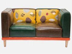 Sofa Leaf Kare Design 78322