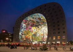 MVRDV's Markthal Rotterdam opened in 2014. Photograph by Hufton + Crow