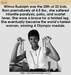 What an amazing woman! Wtf Fun Facts, Random Facts, Faith In Humanity Restored, Black History Facts, Badass Women, The More You Know, Interesting History, African American History, Women In History