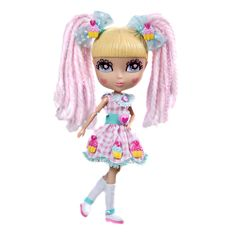NIB Cutie Pops Fashion Doll -Cutie Pops Doll - Chiffon