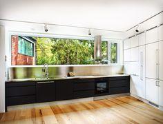 Avanto Architects/ Ville Hara and Anu Puustinen Kitchen And Bath, Kitchen Decor, Architecture Student, Modern City, Interior Design Inspiration, Finland, Villa, Kitchen Cabinets, Minimalist