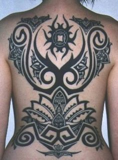 Tribal Wings Tattoo Designs - http://amazingtattoogallery.com/tribal-wings-tattoo-designs/