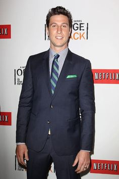 Pablo Schreiber (George 'Pornstache' Mendez) at the Netflix Presents 'Orange is the New Black' premiere in NYC. #OITNB