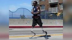 Double Amputee Who Spent Childhood in San Diego Shelters to Compete in Ironman World Championship Half Ironman, Prosthetic Leg, Ironman Triathlon, Big Island Hawaii, Swim Team, Skate Park, World Championship, Black Men, Iron Man