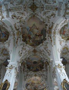 Ceiling - Kloster Andechs, Oberbayern