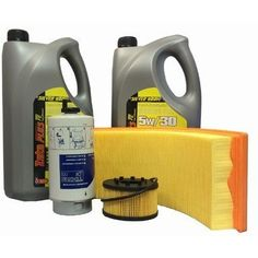 LTI TX2 Engine Filter Service Kit With Oil