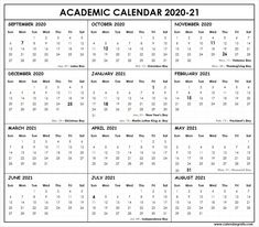 Academic calendar with federal, bank, public, national holiday list. School Calender, 2021 Calendar, Print Calendar, Calendar Printable, National Holiday List, School Template, Calendar Pictures, Christian Holidays, Rice