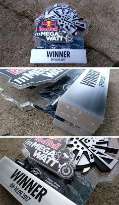 Red Bull - 111 MEGA WATT 2017 trophy