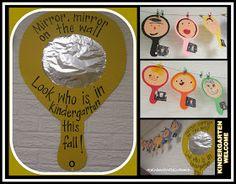 photo of: Back to School Kindergarten Bulletin Board, mirror mirror on the wall Kindergarten Bulletin Boards, Back To School Bulletin Boards, Classroom Bulletin Boards, Classroom Door, Kindergarten Classroom, School Classroom, Classroom Themes, Preschool Bulletin, Preschool Education