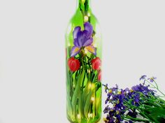 Ningxia Red Bottle reuse ideas. 19 Of The World's Most Beautiful Wine Bottle Crafts