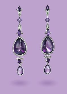 Official Chopard E-Boutique   Temptations - High Jewelry Collection. Amethyst and Tsavorite.