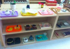 Fine Motor shelf (Trillium Montessori)