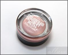Maybelline-Color-Tatoo-Metal-Eyeshadow-in-Inked-In-Pink: I like to wear this with burgundy or plum lips.