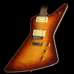 Used 1981 Hamer Standard Electric Guitar Refin and Re-Topped Sunburst