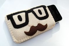 iPhone Case / Cozy / Sleeve / Cover - Groucho Glasses. $23.00, via Etsy.