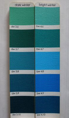 Pallete comparision - TCA (12 tone) BW and TCA (12 tone) DW in Seasonal Palettes Forum