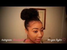 4 Holiday Natural Hairstyles – Natural Hair Buns - bellashoot.com