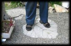 Leaf Stepping Stone Mold - Bing Images