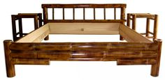 Coyote Bamboo Platform Bed