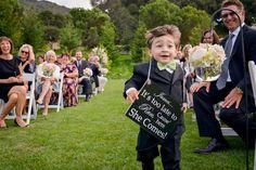 23 pequenos convidados de casamentos com grandes personalidades (FOTOS)