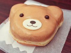 Bear Doughnut By myinnerfatty