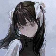 Anime Angel Girl, Sad Anime Girl, Anime Art Girl, Arte Dark Souls, Character Art, Character Design, Anime Galaxy, Sad Art, Chica Anime Manga