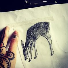 1000 ideas about fawn tattoo on pinterest elk tattoo narwhal tattoo and bambi tattoo. Black Bedroom Furniture Sets. Home Design Ideas