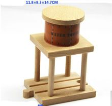 Thomas and His Friends -1PCS Thomas Wooden Train Track Railway Accessories-Wood Water Tower For Thomas Trains(China)