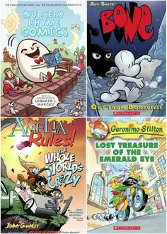 Elementary Graphic Novels A 45 Great Comics and Graphic Novels for Kids