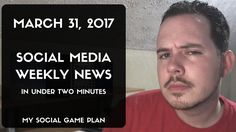 Social Media Weekly News In Under Two Minutes Top Social Media, Social Media Marketing, Social Games, Facebook Features, Small Business Marketing, Locker, Fundraising, Episode 5, How To Plan