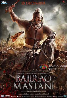 New Poster : Ranveer Singh As The Alpha Warrior In Bajirao Mastani