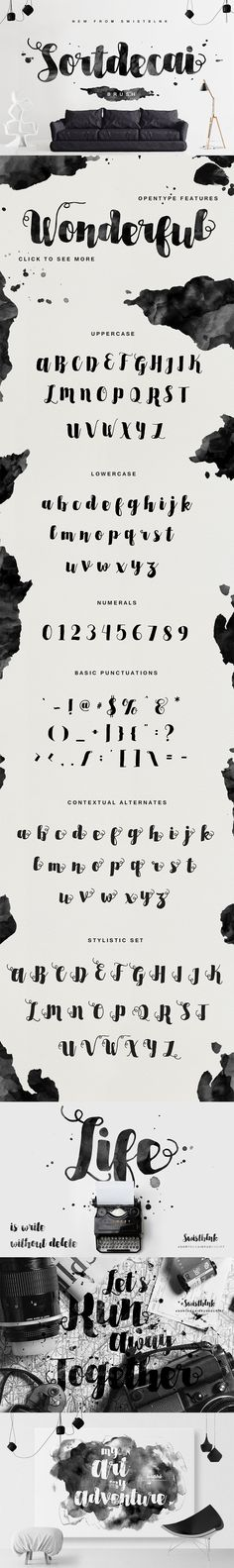 The Freakishly Huge Bundle of 40 Fonts and Bonus Vectors (Plus Web Fonts & Extended Licensing) - Only $39   MyDesignDeals