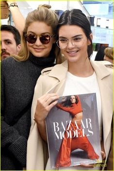 Kendall Jenner & Gigi Hadid Ride The Carousel After Stopping By Colette In Paris: Photo #874003. Kendall Jenner rocks some cute glasses while leaving the Colette store in Paris, France on Friday afternoon (October 2).    The 19-year-old model was joined by fellow…