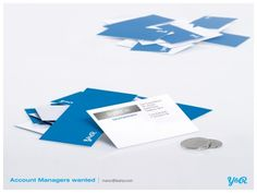 #recruitment account managers wanted creative job ad