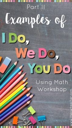 """Are you looking for examples of """"I do, we do, you do""""? This blog post provides examples of it in action in the classroom and in lesson plans."""