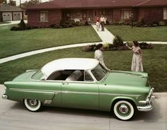 1954 Ford Crestline Crown Victoria..Re-pin brought to you by agents of #Carinsurance at #HouseofInsurance in Eugene, Oregon