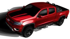 Chevy has unveiled the 2016 Chevrolet Colorado Trail Boss at the 2015 SEMA Show in Las Vegas with additional off-road gear and accessories. Chevrolet Colorado Z71, Colorado Chevy, Colorado Trail, Chevrolet Trucks, Goodyear Duratrac, Truck Crafts, Silverado Hd, Show Trucks, Fender Flares